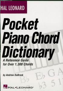 Hal Leonard Pocket Piano Chord Dictionary (Music Instruction) Book