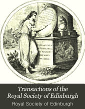 Transactions of the Royal Society of Edinburgh: Volumes 1-34