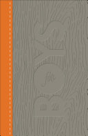 CSB Study Bible for Boys Charcoal Orange  Wood Design LeatherTouch PDF