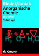 Anorganische Chemie PDF