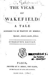 The vicar of Wakefield ;...
