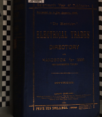 The Electrician  Electrical Trades  Directory and Handbook for 1890  1895  1899 PDF