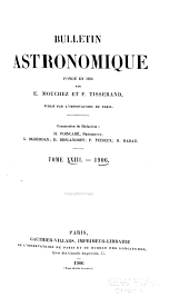 Bulletin astronomique: Volume 23
