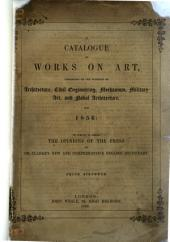 Catalogue of Works on Art ... for 1856