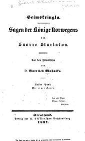 Heimskringla: Sagen der Könige Norwegens