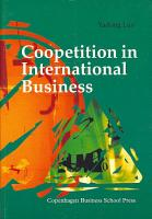 Coopetition in International Business PDF
