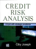 Credit Risk Analysis PDF