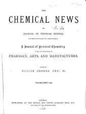 Chemical News and Journal of Industrial Science: Volume 32