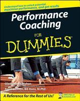 Performance Coaching For Dummies PDF