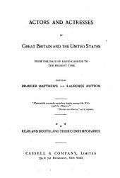 Actors and Actresses of Great Britain and the United States: Volume 3