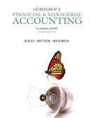 Horngren s Financial and Managerial Accounting  the Financial Chapters and NEW MyAccountingLab with Pearson EText    Access Card Package