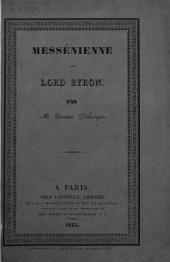 Messénienne sur Lord Byron