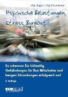 Psychische Belastungen  Stress  Burnout  PDF