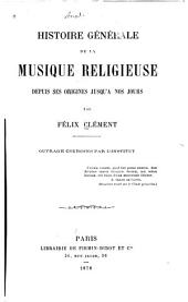 Histoire générale de la musique religieuse