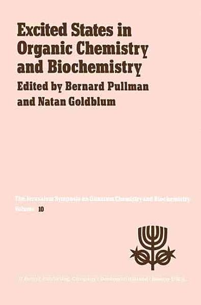 Excited States in Organic Chemistry and Biochemistry PDF