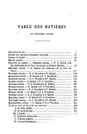 Oeuvres complètes de Frédéric Bastiat - Sophismes économiques : petits pamphlets, 1-2: mises en ordre, revues et annotées d'après les manuscrits de l'auteur, Volume2