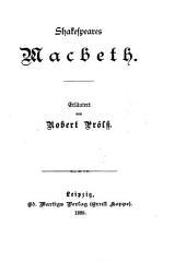 Shakespeares Macbeth