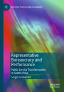 Representative Bureaucracy and Performance PDF