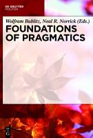Foundations of Pragmatics PDF