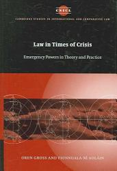 Law In Times Of Crisis Book PDF