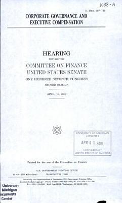 Corporate Governance and Executive Compensation PDF