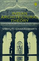 Indian Architectural Theory and Practice PDF