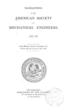 Transactions of the American Society of Mechanical Engineers PDF