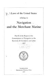 Laws of the United States Relating to Navigation and the Merchant Marine