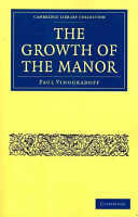 The Growth of the Manor PDF
