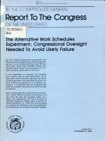 The Alternative Work Schedules Experiment