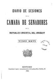 Diario de sesiones de la Cámara de Senadores de la República Oriental del Uruguay: Volumen 26