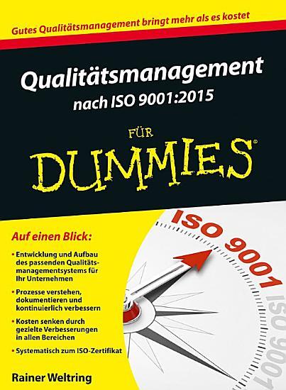 Qualitatsmanagement Nach DIN 9001 PDF