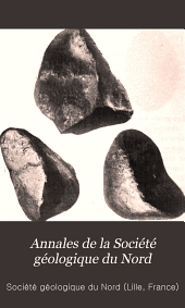 Annales de la Société géologique du Nord: Volumes35à36
