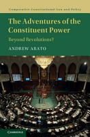 The Adventures of the Constituent Power PDF