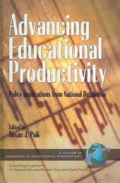Advancing Educational Productivity: Policy Implications from National Databases