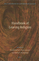 Handbook of Leaving Religion