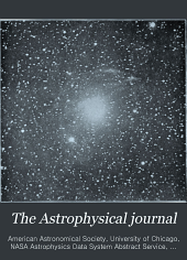 The Astrophysical Journal: Volume 16