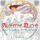 Alphonse Mucha (Art Colouring Book)