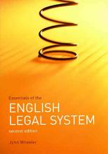 Essentials of the English Legal System PDF
