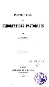 Instructions et exhortations pastorales