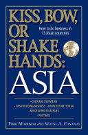 Kiss  Bow  Or Shake Hands Asia PDF