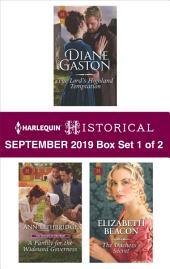 Harlequin Historical September 2019 - Box Set 1 of 2