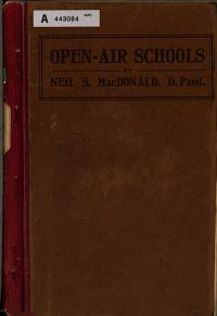 Open air Schools PDF