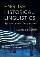 English Historical Linguistics PDF