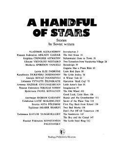 A Handful of Stars PDF