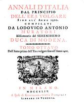 Annali d'Italia, dal principio dell'era volgare sino all'anno: Volume 8