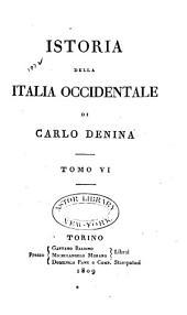 Istoria della Italia occidentale: Volume 6