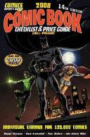 2008 Comic Book Checklist   Price Guide