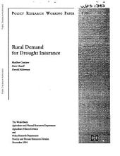 Rural Demand for Drought Insurance