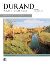 Waltz in E-Flat Major: Early Advanced Piano Solo